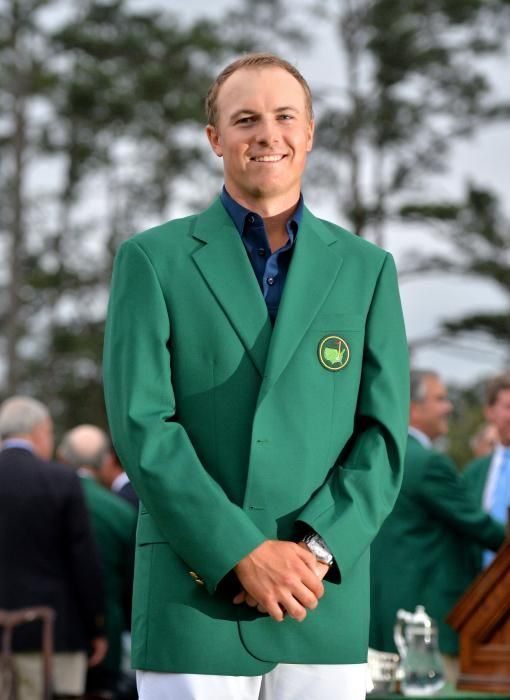 Tying for the best score in Masters history, 21-year old Jordan Spieth took home the green jacket at the 2015 tournament.
