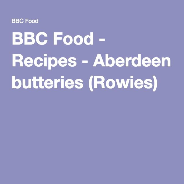 BBC Food - Recipes - Aberdeen butteries (Rowies)