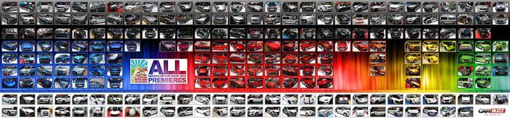 Фото-карта новинок Geneva Motor Show 2012