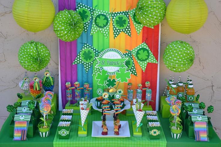 Amandas Parties TO GO: St. Patricks Day FREEBIE Printable Set
