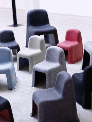 Hay - Little nobody - chair - child - children - furniture - pet felt