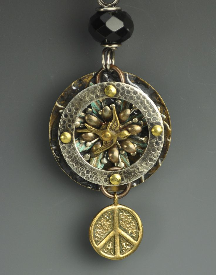 peek into my world pendant by tracy stanley my work