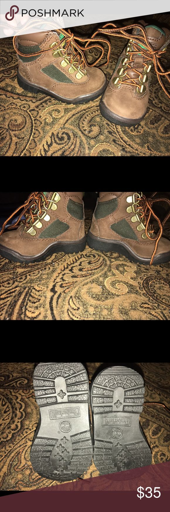 """Brand new timberland Field Boots Never worn brand new timberland Field Boots brown and hunter green """"beef and broccoli"""" Timberland Shoes"""