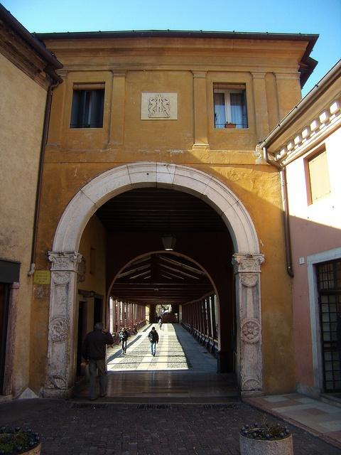 ponte degli alpini, Bassano, province of Vicenza , Veneto region Italy