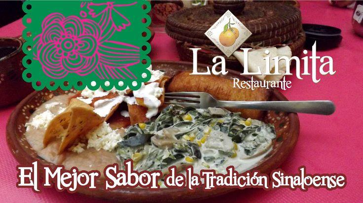 La mejor cocina sinaloense está en La Limita Restaurante!! #LaLimitaRestaurante