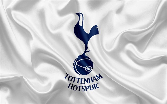 Lataa kuva Tottenham Hotspur, Football Club, Premier League, jalkapallo, Tottenham, Lontoo, UK, Englanti, lippu, tunnus, logo, Englannin football club
