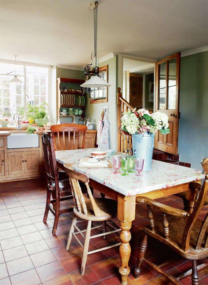 The Thoughtful Room By Room Renovation Of Their Georgian Family Home Is An  Absorbing Project For Artist Simon Casson And His Wife Sheridan. Cozy  Kitchen ...