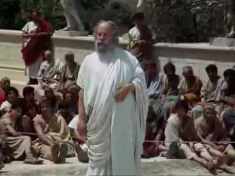 Sócrates 1970, de Roberto Rossellini... Película Completa