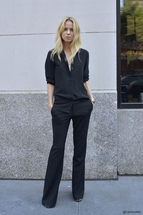 FRIDAY FASHION FILES: ALL BLACK CHIC