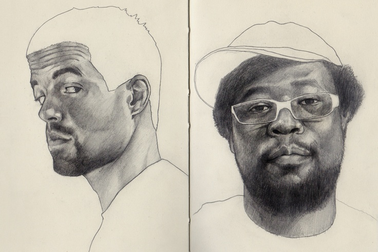 Dan and Dahm.  The amazing Brain Bantog: Sketchbooks Sketch Moleskine