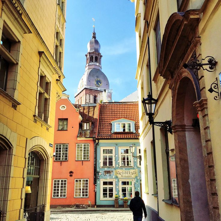 Ruelles de Riga  LETTONIE