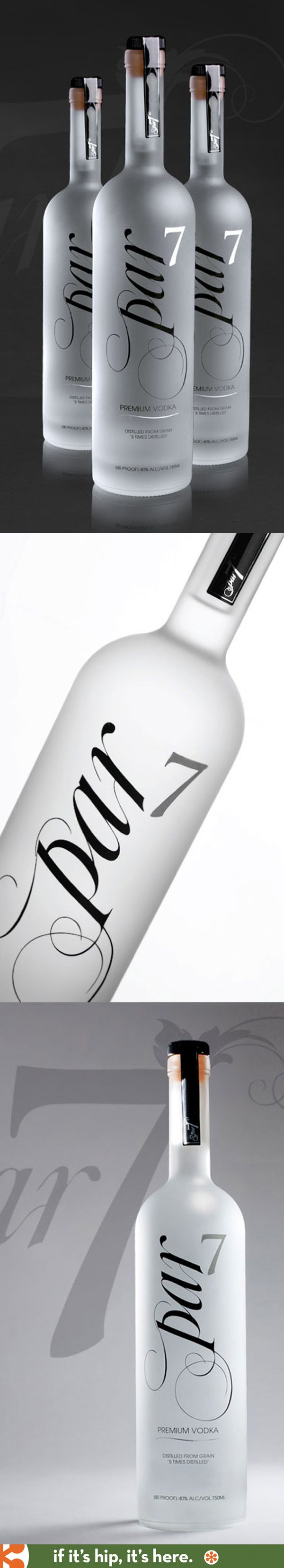 Par 7 Premium Vodka bottle