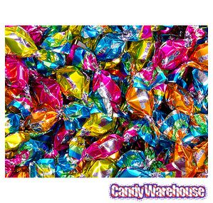 chipurnoi glitterati candy...tropical fruit assortment...1600-piece bag from candy warehouse...