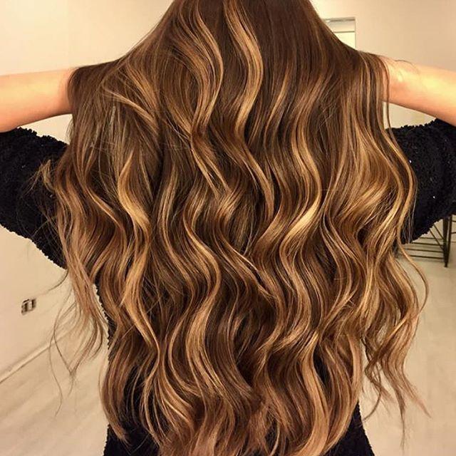 Honey Caramel Brunette Balayage Brunette Balayage Hair