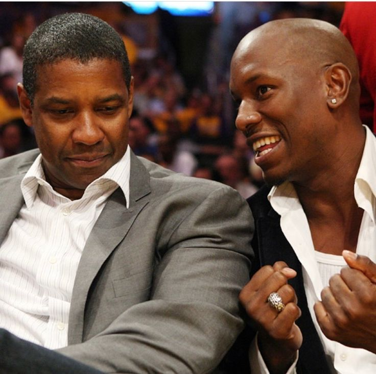 Denzel and Tyrese Gibson