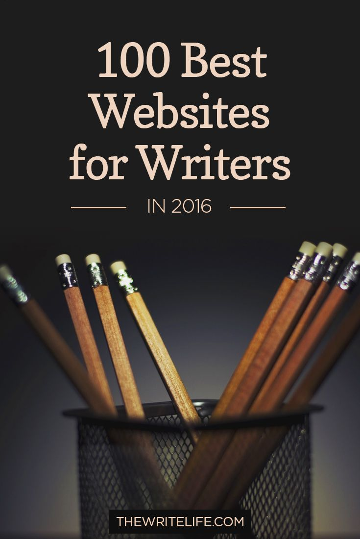 The 100 Best Websites for Writers in 2017