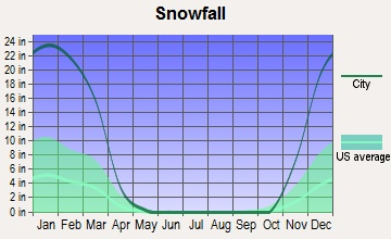 Annual Snowfall For Rochester Ny May Yeah Geography