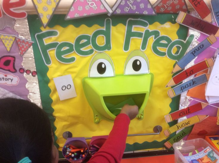 Feed Fred with spelling words from Read,Write Inc                              …