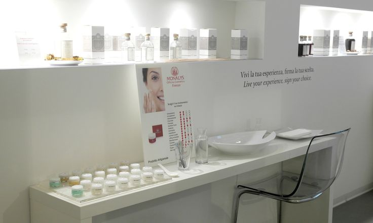 Our new Beauty Corner at Monalys.