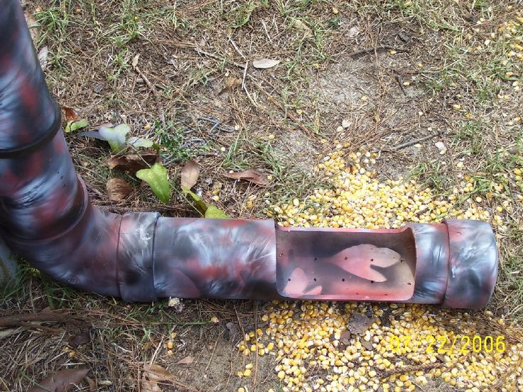 PVC deer feeder pics - Georgia Outdoor News Forum