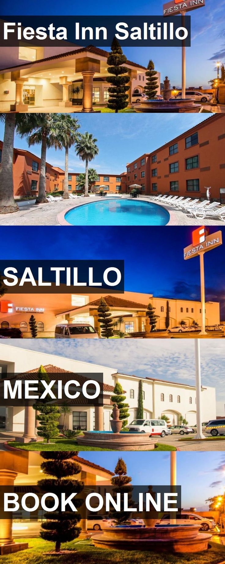 Hotel Fiesta Inn Saltillo in Saltillo, Mexico. For more information, photos, reviews and best prices please follow the link. #Mexico #Saltillo #travel #vacation #hotel