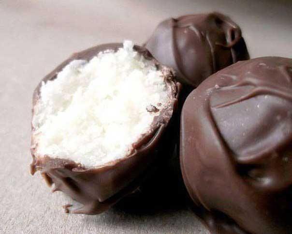 Любимые сладости — батончики«Баунти»
