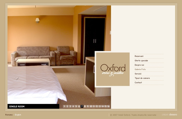 Love the cleanliness, usability, and movement of this website. I have no idea what the words mean but I get a feel for this place (and I like it!). www.hotel-oxford.ro