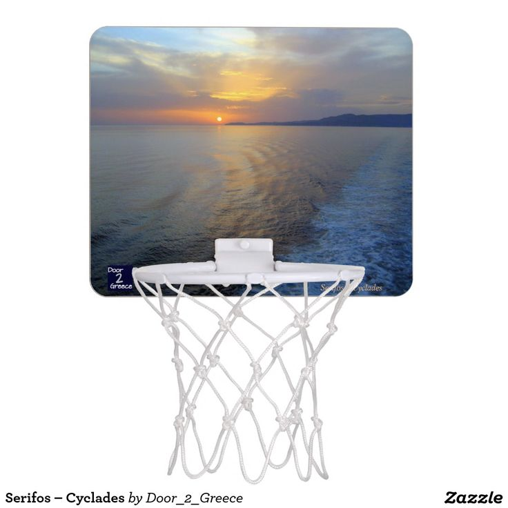 Serifos – Cyclades Mini Basketball Backboard