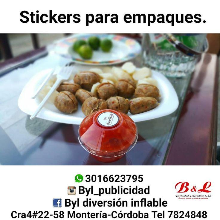 Gracias @donpablobutifarras por confiar en nosotros   Diseñamos imprimimos y troquelamos Stickers a full color o a una tinta para todo tipo de empaques o superficies.  Estámos ubicados en la cra 4#22-58  Montería- Córdoba tel 7824848 Cel 3016623795  Redes sociales Instagram byl_publicidad  Facebook byl diversión inflable  #publicidad #vinilo #creativo #colombia #party #barranquilla #monteria #cordoba #fit #gopro #carrovalla#abogado #sahagun #lorica #plotter #pintura #goprohero5  #bar…