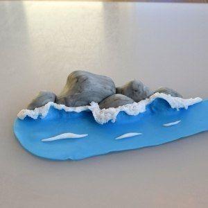 Лепим волну из полимерной глины. Мастер-класс... фото #9