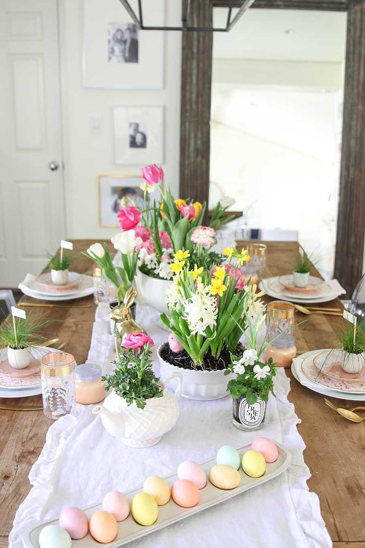 1996 Best Spring Tablescapes Images On Pinterest
