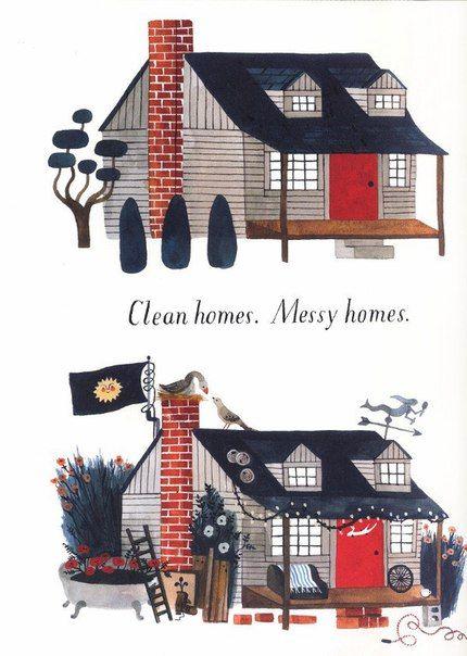 Carson Ellis ~ Home ~ 2015                                                                                                                                                                                 More
