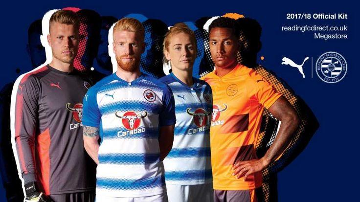 Camisas do Reading FC 2017-2018 Puma