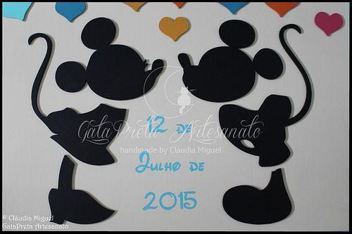 """Quadro de assinaturas para casamento """"Disney Wedding Dream"""""""