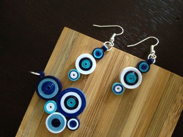 Quilled jewelry tutorial