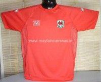 Wales football shirt