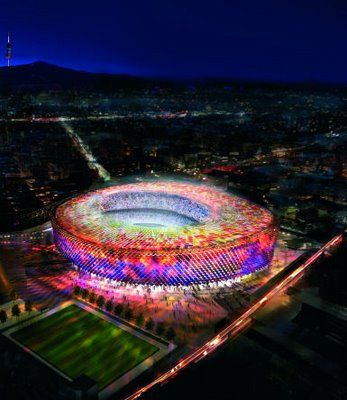 barcelona soccer stadium - Google Search