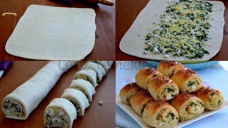 Peynirli Rulo Hamur