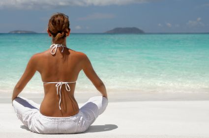 Quick Meditation Exercise for Stress-Relief: At The Beaches, Healthy Meals, Sexy Back, Beaches Activities, Yoga Meditation, Peace, Health Benefits, Stress Management, Back Workout