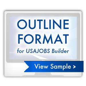 our federal resume formats