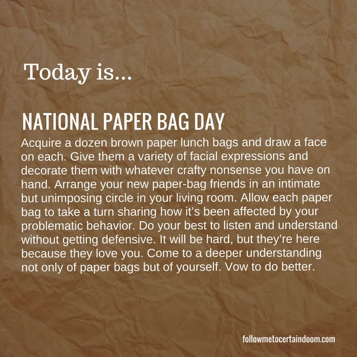 0712_National Paper Bag Day