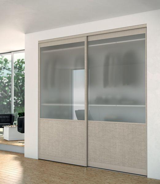 1000 id es sur le th me portes coulissantes de placard sur - Porte de placard vitree ...