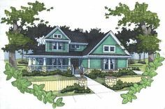 Eplans Farmhouse House Plan - Country Shutters - 1952 Square Feet and 3 Bedrooms from Eplans - House Plan Code HWEPL12003