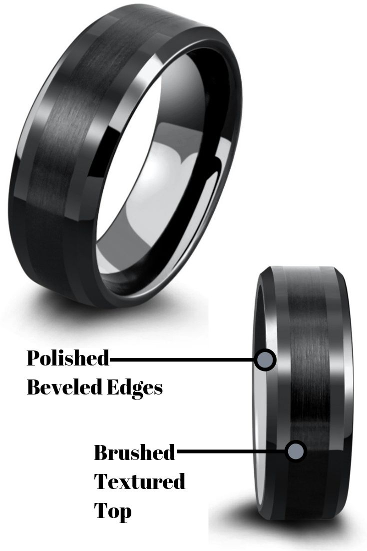 Bulzi Massaging Comfort Fit Silicone Wedding Ring 1 Most Comfortable Mens Wedding Band Round Ed Silicone Wedding Band Womens Wedding Bands Wedding Rings 8mm