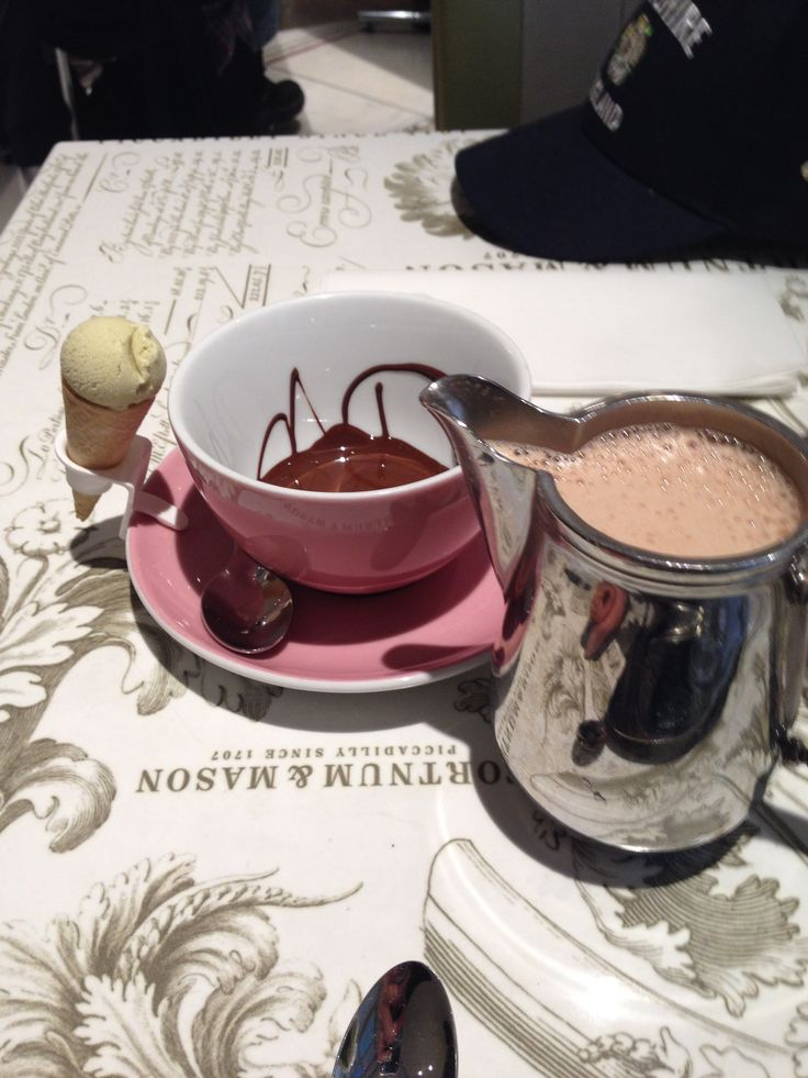 The ultimate hot chocolate, courtesy of Fortnum and Mason