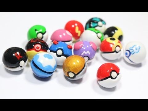 how to make pokemon out of polymer clay