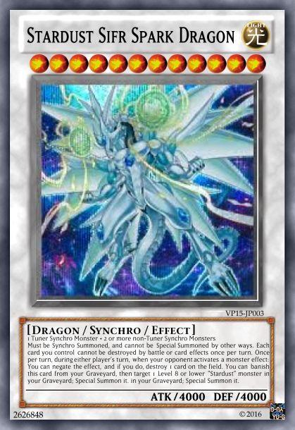 Stardust Sifr Spark Dragon