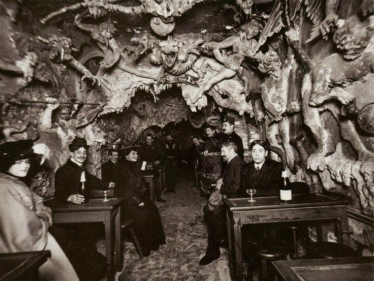 Hell's Cafe - Paris, 19th century