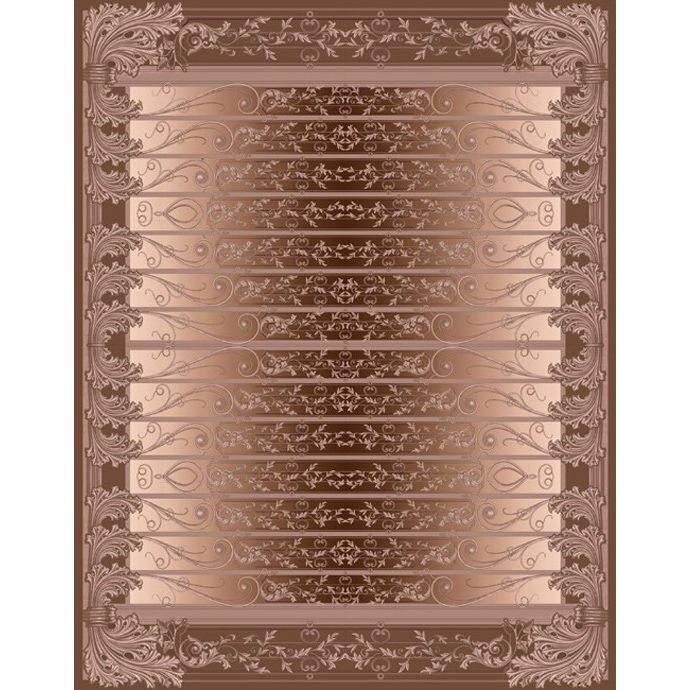 Бронзовый ковер с объемным изображениям Edem