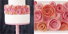 Tutorial para hacer unas rosas de oblea comestibles para decorar tartas